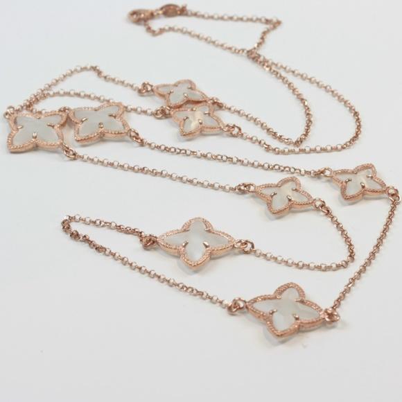 Mia Fiore Dyadema Italy Jewelry Dyadema Necklace Italy Rose Gold